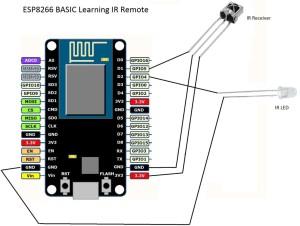 ESP8266 IR Remote